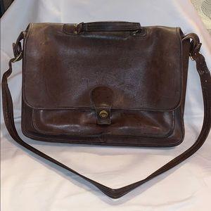 Brown Coach Briefcase Satchel